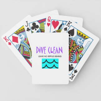 TOP Dive Clean No Ripples Bicycle Playing Cards