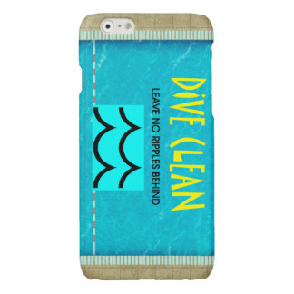 TOP Dive Clean No Ripples Glossy iPhone 6 Case