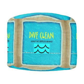 TOP Dive Clean No Ripples Pouf