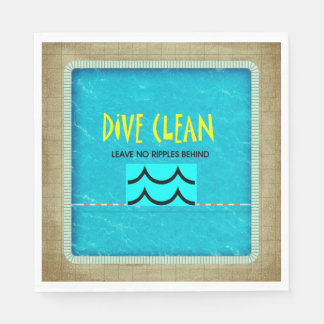 TOP Dive Clean No Ripples Standard Luncheon Napkin