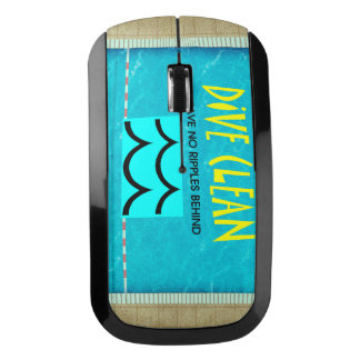 TOP Dive Clean No Ripples Wireless Mouse
