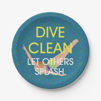 TOP Dive Clean Paper Plate