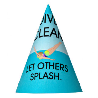 TOP Dive Clean Party Hat