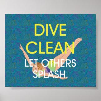 TOP Dive Clean Print