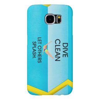 TOP Dive Clean Samsung Galaxy S6 Cases