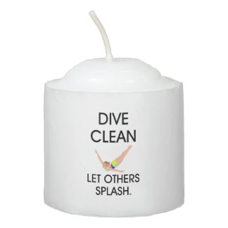 TOP Dive Clean Votive Candle