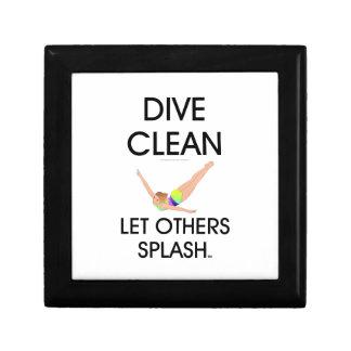 TOP Dive Clean (W) Keepsake Box