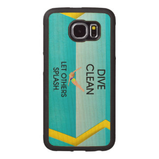 TOP Dive Clean Wood Phone Case