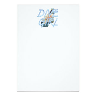 TOP Dive Girl Card