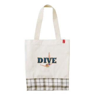 TOP Dive Zazzle HEART Tote Bag