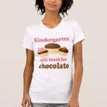 Top divertido de la camiseta del maestro de jardín