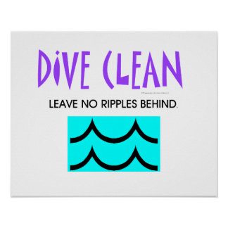 TOP Diving No Ripples Poster