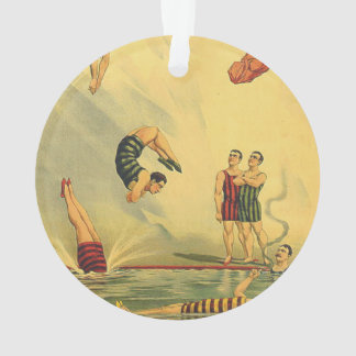 TOP Diving Old School Ornament
