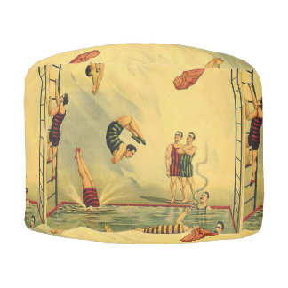 TOP Diving Old School Pouf