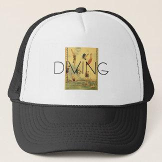 TOP Diving Old School Trucker Hat