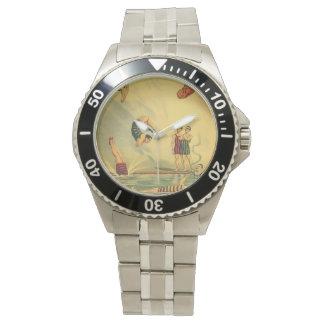 TOP Diving Old School Wrist Watch
