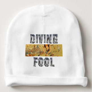TOP Diving Slogan Baby Beanie