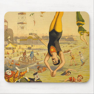 TOP Diving Slogan Mouse Pad