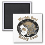 Top Dog Daddy 2 Inch Square Magnet