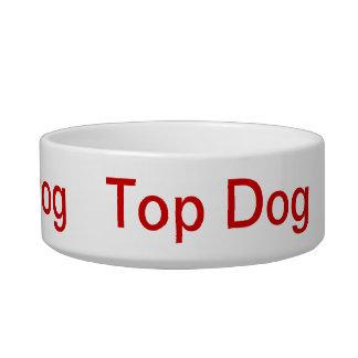Top Dog Hot Dog Cool Dog bowl