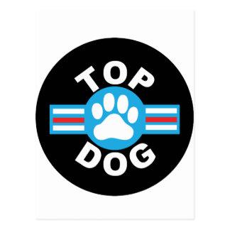 top dog postcard