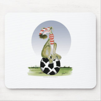 top dog reds soccer mouse pad