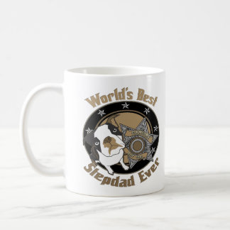 Top Dog Stepdad Classic White Coffee Mug