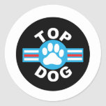 top dog sticker