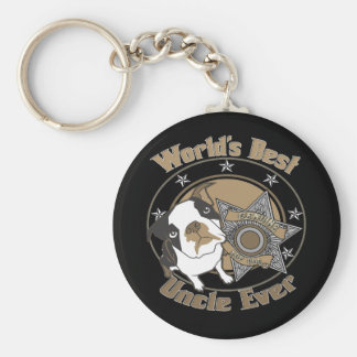 Top Dog Uncle Keychain