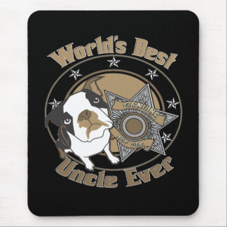 Top Dog Uncle Mouse Pad