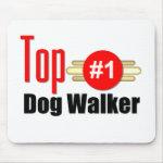 Top Dog Walker Mousepads