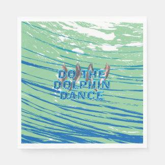 TOP Dolphin Dance Paper Napkin