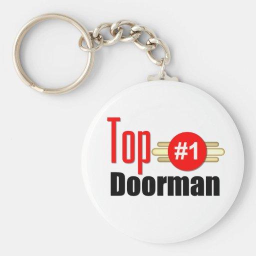 Top Doorman Keychain