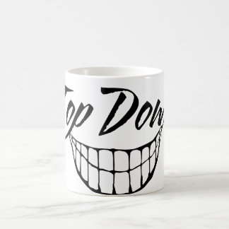 Top Down Grin Coffee Mug