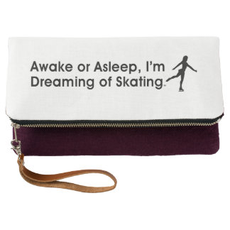 TOP Dreaming of Skating Clutch