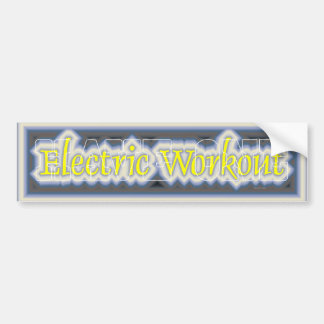 TOP Electric Workout Bumper Sticker
