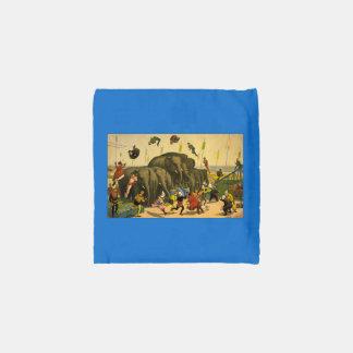 TOP Elephant Acrobats Reusable Bag