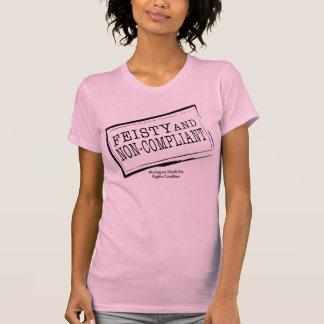 Top escarpado reversible decidido camisetas