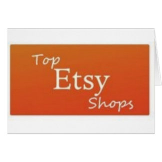 Top Etsy Shops Card