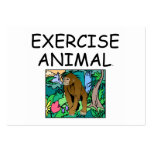 TOP Exercise Animal Business Card Templates