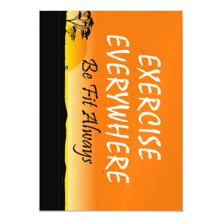 TOP Exercise Everywhere Magnetic Card