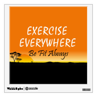 TOP Exercise Everywhere Room Graphics