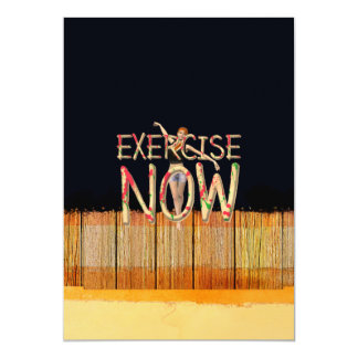 TOP Exercise Now Card