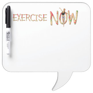 TOP Exercise Now Dry Erase Board