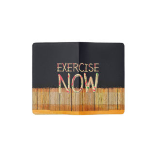 TOP Exercise Now Pocket Moleskine Notebook
