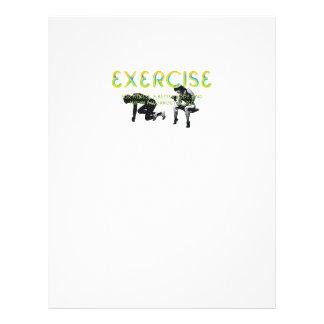 TOP Exercise Slogan Flyer
