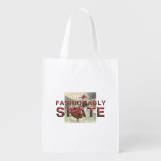 TOP Fashionably Skate Grocery Bag