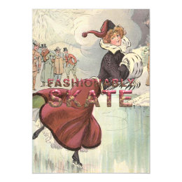 TOP Fashionably Skate Magnetic Card