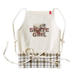 TOP Fashionably Skate Zazzle HEART Apron