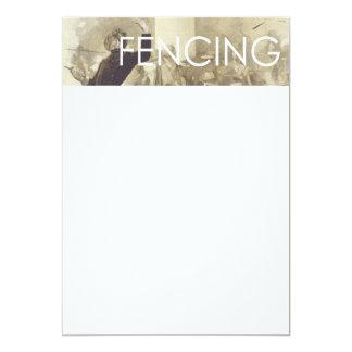TOP Fencing Card